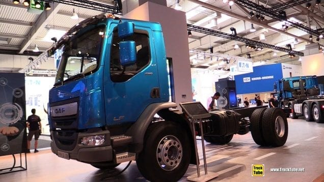 2019 DAF LF 290 FA Day Cab Truck – Exterior and Interior Walkaround – 2018 IAA Hannover