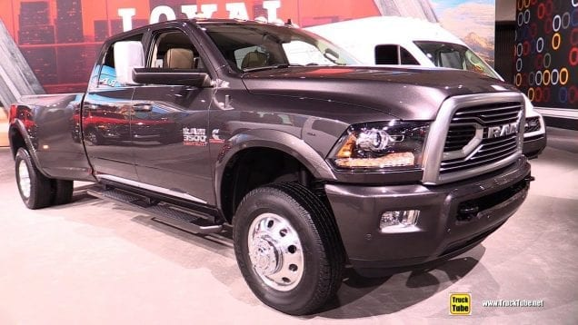 2019 Ram 3500 Limited – Exterior and Interior Walkaround – 2018 LA Auto Show