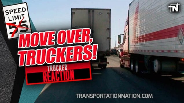 Move Over Truckers – Trucker Reaction