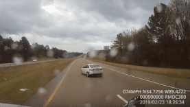 Trucker Makes Incredible Save