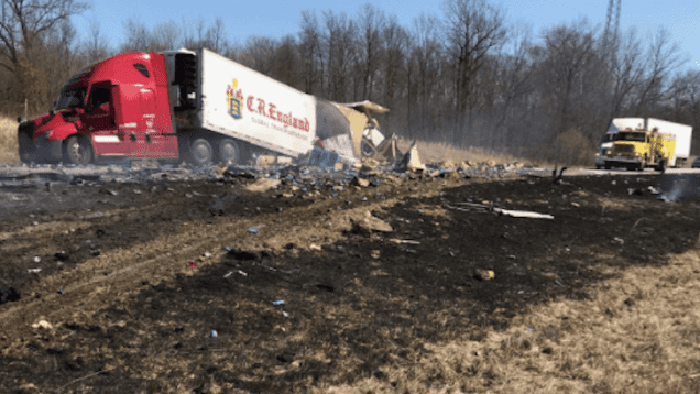 Two Fatal Accidents Caused By Distracted Truck Drivers, ISP Says