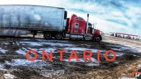 My Trucking Life | CROSSED THE BORDER | #1657
