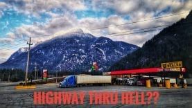 My Trucking Life | HIGHWAY THRU HELL?? | #1667