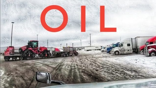 My Trucking Life | WATCHING MY OIL | #1662