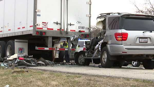 Motorist Dies After Slamming Into Semi