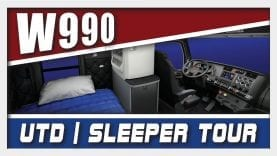 UTD Kenworth W990 Sleeper