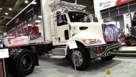 2020 Peterbilt 348 Reefer Truck – Exterior and Interior Walk Around