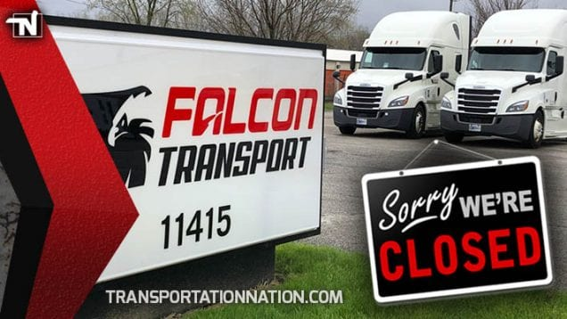 Falcon Transport CLOSED