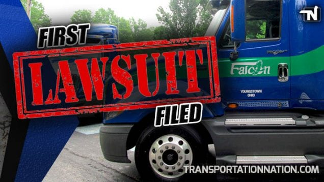 Falcon Transport – First Lawsuit Filed