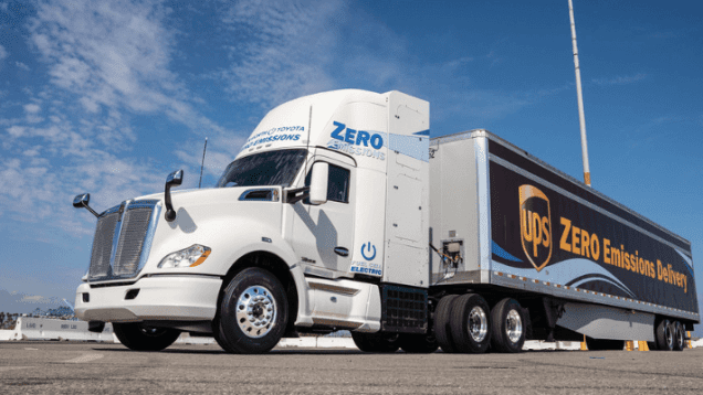Kenworth:Toyota Fuel Cell Electric Truck