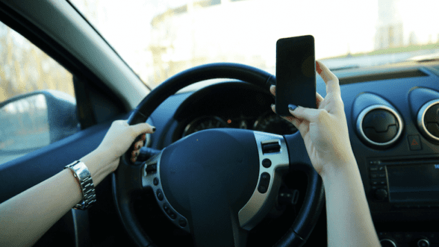 Cell Phone Use Is Top Distraction For Drivers