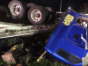 Semi Plunges 30 Feet Of Of I-471 Overpass