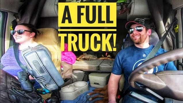 My Trucking Life | A FULL TRUCK! | #1677