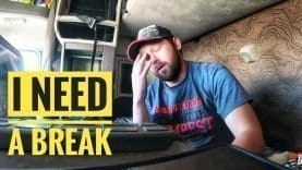 My Trucking Life | I NEED A BREAK! | #1676