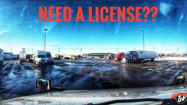 My Trucking Life | NEED A LICENSE FOR THAT! | #1691