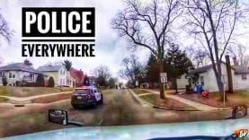 My Trucking Life | POLICE EVERYWHERE!!! | #1683