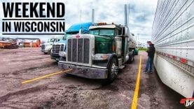 My Trucking Life | STUCK IN WISCONSIN | #1689