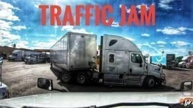 My Trucking Life | TRAFFIC JAM | #1690