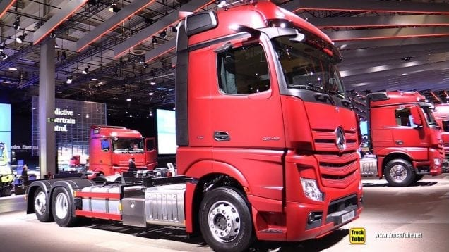 2019 Mercedes Actros 2545 L Tractor – Exterior and Interior Walk Around