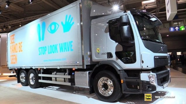 2019 Volvo FE 350 Truck – Exterior and Interior Walk Around