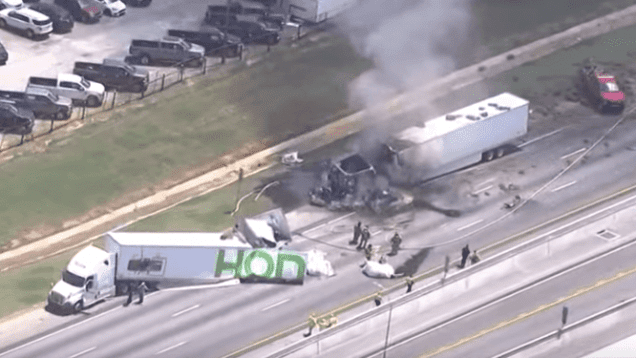 4 Dead After Big Rig Fails To Stop