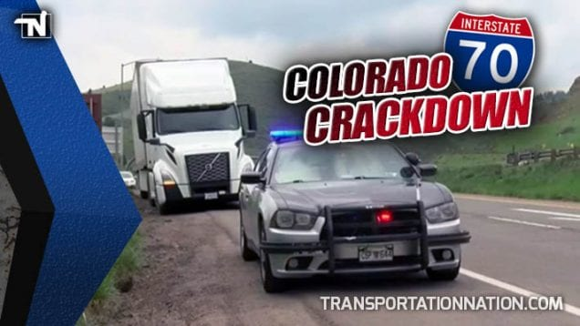 Colorado Crackdown on I-70