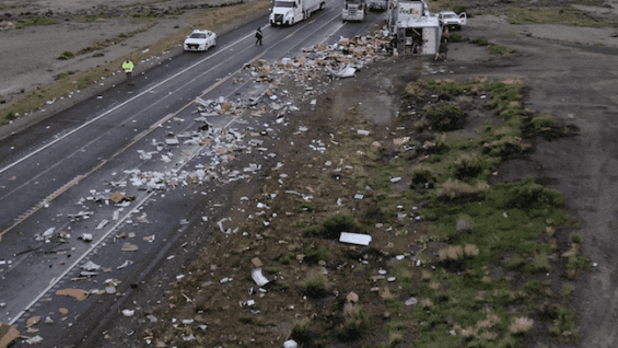 Truck Driver Killed In