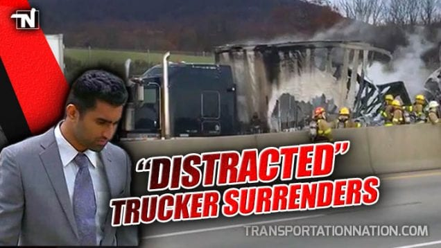 Distracted Trucker Surrenders – Fatal Crash Kills Couple Headed to Their Own Wedding
