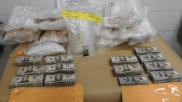 Truck Driver Busted With Meth and Cash at Blue Water Bridge