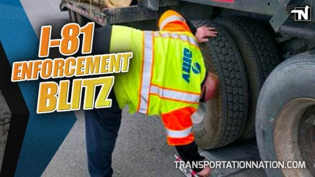 I-81 Enforcement Blitz