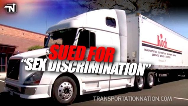 Koch Trucking Sued for Sex Discrimination
