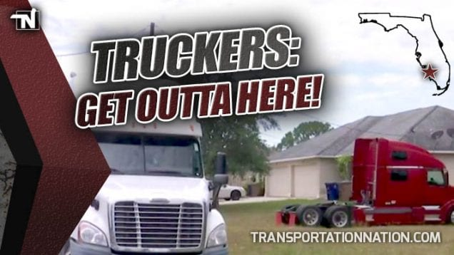 Lee County Florida Tells Truckers to GET OUTTA HERE