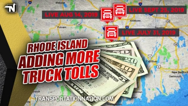 Rhode Island Is Adding More Truck Only Tolls