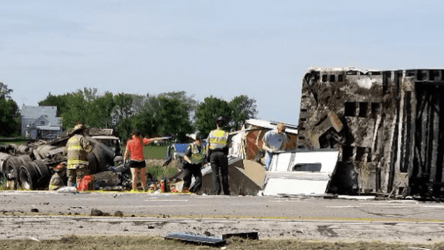 Truck Driver And Two Motorists Perish On Ohio Turnpike On Memorial Day Crash