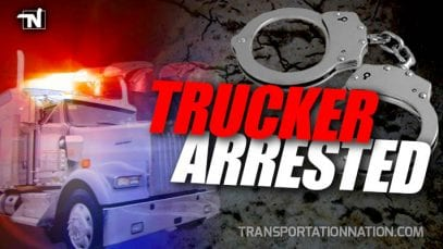 Trucker Arrested