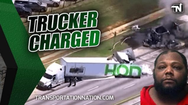Trucker Charged in Accident that Killed 4