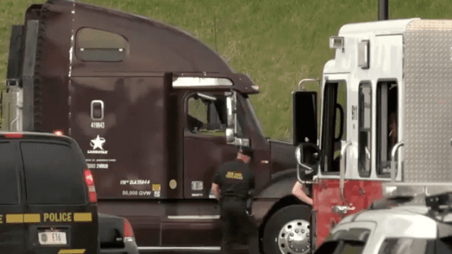 Trucker Killed In Accident At Home Depot