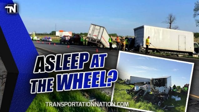 Was Trucker Who Killed Box Truck Repair Man Along I-74 in Indiana Asleep at the Wheel