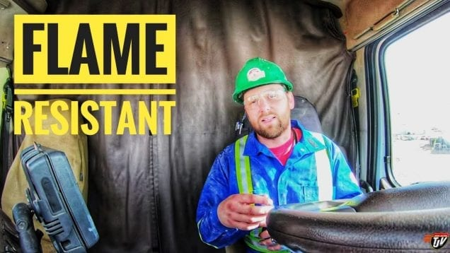 My Trucking Life | FLAME RESISTANT! | #1715