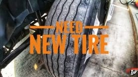 My Trucking Life | NEED NEW TIRE | #1714