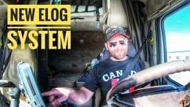 My Trucking Life | NEW E-LOG SYSTEM | #1718