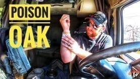 My Trucking Life | POISON OAK!!! | #1708