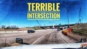 My Trucking Life | TERRIBLE INTERSECTION | #1697
