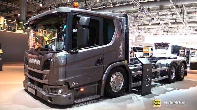 2019 Scania L340 B6x2 CNG Tractor – Exterior and Interior Walk Around – 2019 IAA Hannover