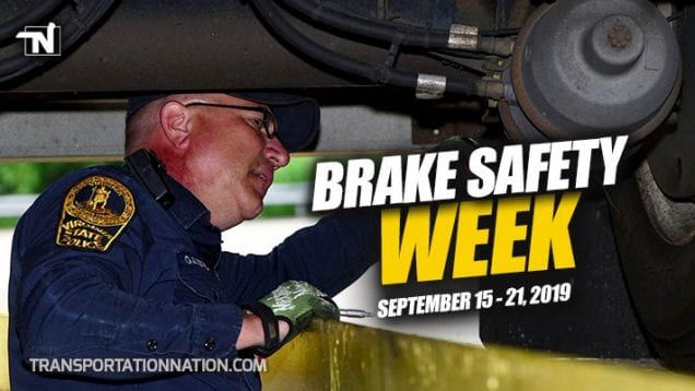 Brake Safety Week Coming Sep 15-21 2019