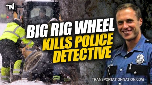Detective Ben Campbell Dies After Truck Wheel Hits Him