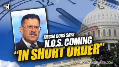 FMCSA Ray Martinez Says HOS Coming in Short Order