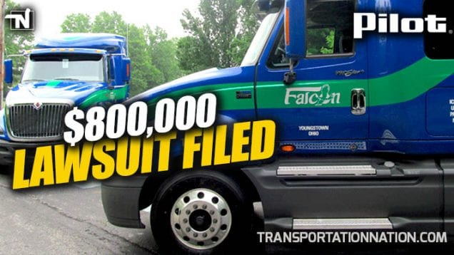 Falcon Transport – Pilot Lawsuit Filed