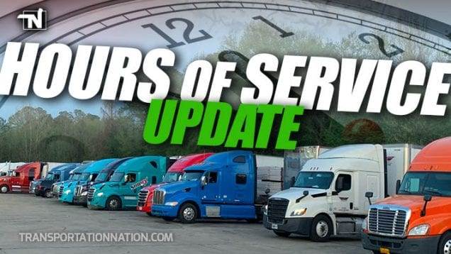 Hours of Service UPDATE – FMCSA