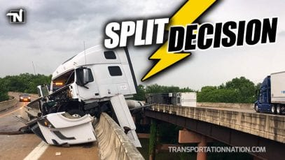 Mail Truck Crash in Little Rock Arkansas – Split Decision